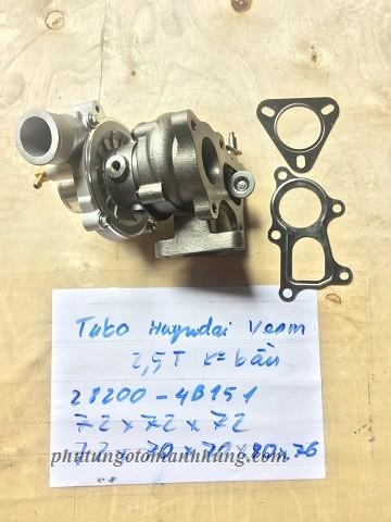 Turbo Huyndai VEAM 2.5T không bầu