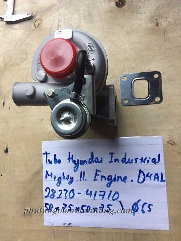 Turbo huyndai Industrial Mighty 2 Engine 4DAL