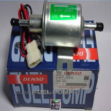 Bơm xăng đẩy 2 đầu thẳng không IC Bosch 2(denso)